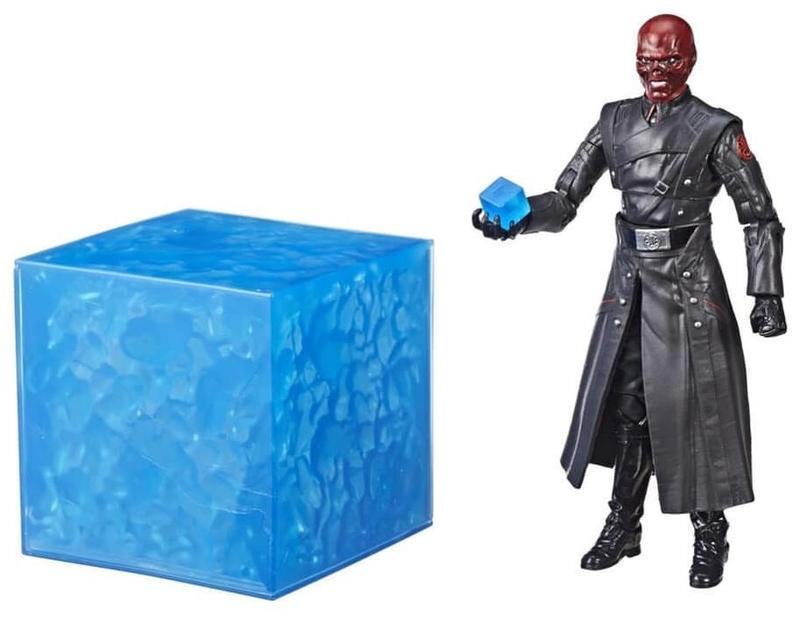 [Toys Hero] IN Hand MARVEL LEGENDS SDCC 10th 10th 10th Red Skull & Electronic Tesseract 96072b