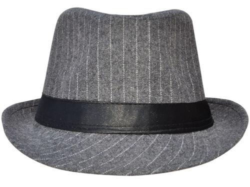 Unsex Hommes Femmes été plage Chapeaux Fedora Trilby Gangster Chapeau Panama danse jazz