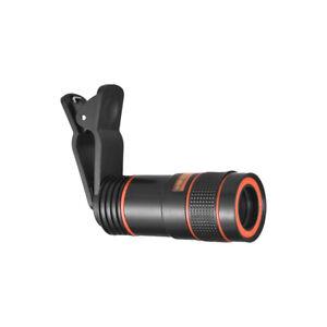 Zoom ottico 8X Teleobiettivo per smartphone Lente per telescopio portatile G8W6