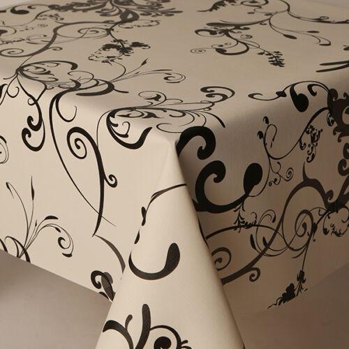 OVAL WIPECLEAN TABLE CLOTH PROTECTORS OIL VINYL PLASTIC CLOTH PRINTED KIDS