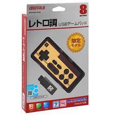 Buffalo Nintendo Famicom NES USB Classic Game Pad Controller Gamepad Retro Red