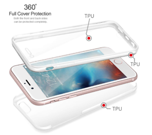 Front-Back-Ultra-Slim-Stossfeste-Hybrid-Silikon-360-Case-fuer-iPhone-8