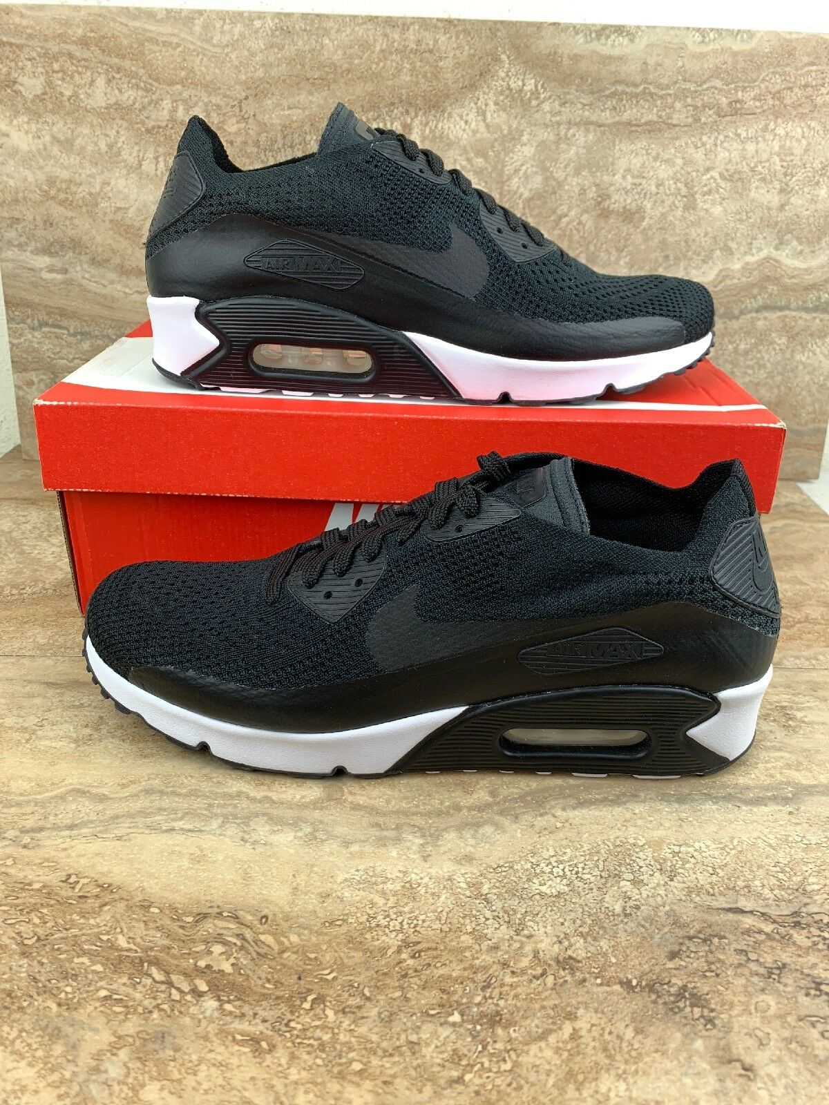 Nike Air Max 90 Ultra 2.0 Flyknit Running shoes Black White