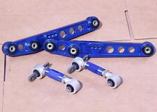 BLUE REAR LOWER CONTROL ARM CAMBER KIT FOR HONDA CIVIC 88-95 INTEGRA 1990-2001