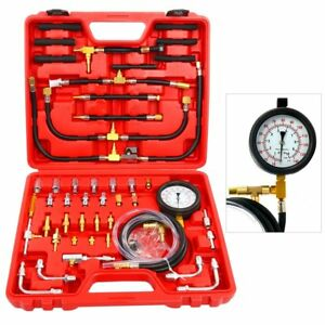 Pro-Fuel-Injection-Pressure-Tester-Kit-3-5-034-Gauge-0-140-PSI-Pump-Injector-Tester