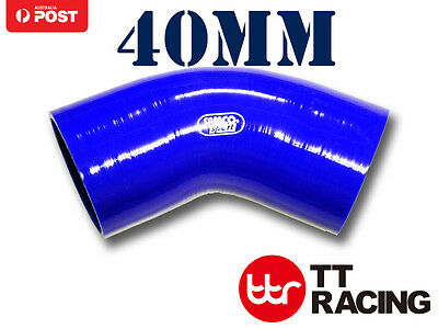 Samco Standard Elbows Blue 45-degrees 80mm 125mm