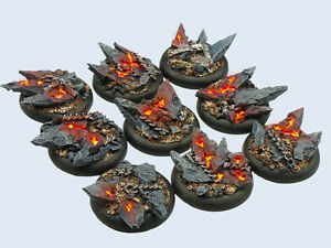 Micro Art Studio BNIB - Chaos Bases, WRound 30mm (5)