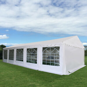 Image is loading 16-039-X32-039-Party-Wedding-Tent-Shelter- & 16u0027X32u0027 Party Wedding Tent Shelter Heavy Duty OutdoorCanopy ...