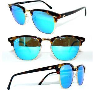 Ray-Ban-RB-3016-gafas-de-sol-1145-17-azul-espejo-club-master-4246-gafas-4190