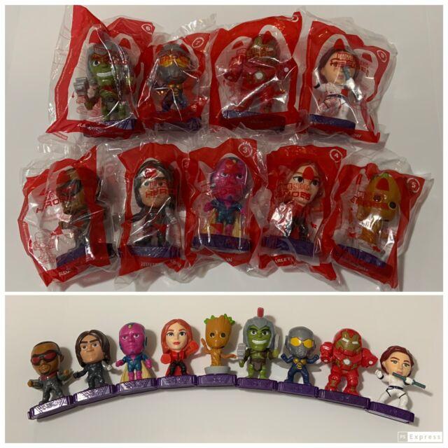 New McDonald's  2020 MARVEL STUDIOS HEROES SET OF 9 SEALED TOYS Avengers Set