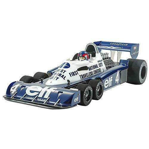 Tamiya No.92 RC 1 10 Tyrell P34 1977 Monaco GP Special Painted Body Kit 20124