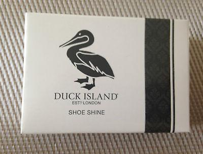 Duck Island Shoe Shine  Sponge  Hotel Bedroom Guest Accessories  x 4