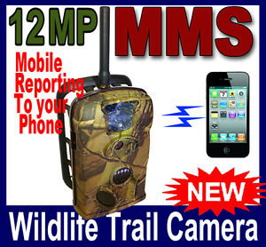 12MP Camera Scouting Trail Game Hunting FREE 8GB SD Card Farm Security IR 940NM