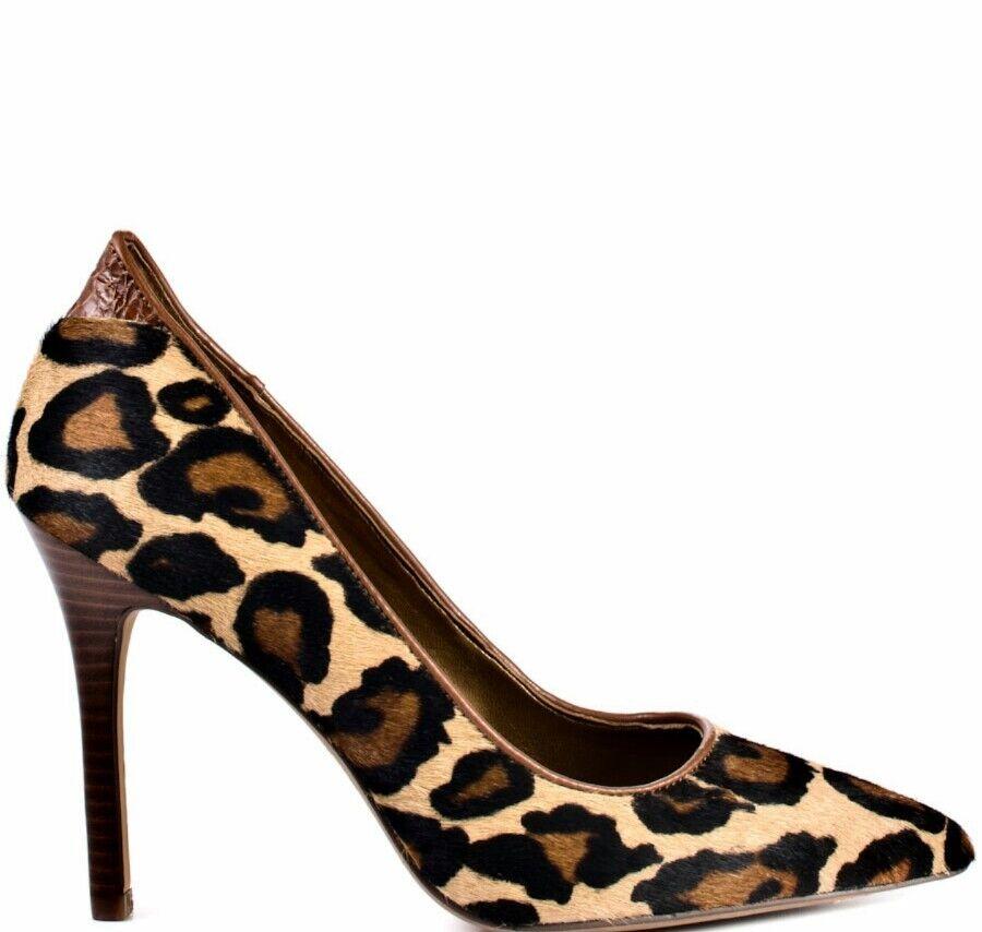 Sam eldelman Portney Estampado de Leopardo en en en Punta Tacones  ventas en linea