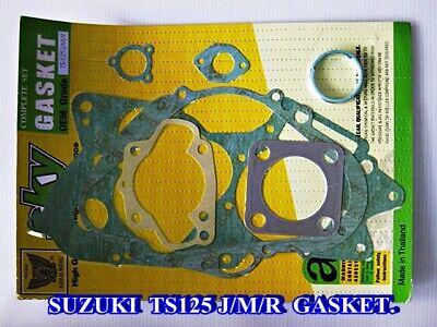 COMPLETE GASKET SET SUZUKI TS125 TS125C TS125N C N TS