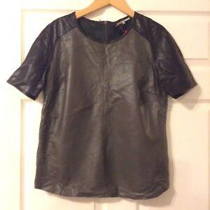 black Grey m Colour size S 38 Top Darel Leather Gerard PAIxOnfO