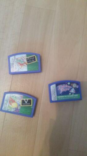 3 x Leapster Spiele Kindercomputer Leapfrog