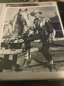 Roy Rogers & Trigger Signed Photo Autograph