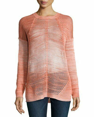 365 Haute Haute Haute Hippie Tie Dye Semi Sheer Tunic Sweater Dyed Mesh XS 0 2 NWT H270 69f6a4