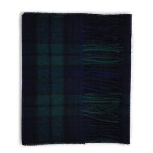 Kleidung & Accessoires Kiltane Of Scotland 100% Cashmere Scottish Tartan Scarf Kleidung & Accessoires Black Watch äRger LöSchen Und Durst LöSchen
