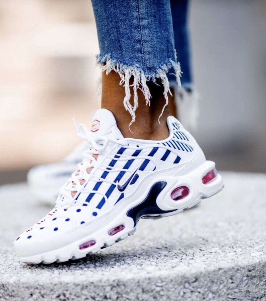 NIKE AIR MAX PLUS TN UNITE TOTALE FRANCE  damen UK 4.5 EU 38  CI9103 100