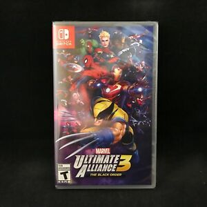 Marvel-Ultimate-Alliance-3-The-Black-Order-Nintendo-Switch-NEW-Region-Free