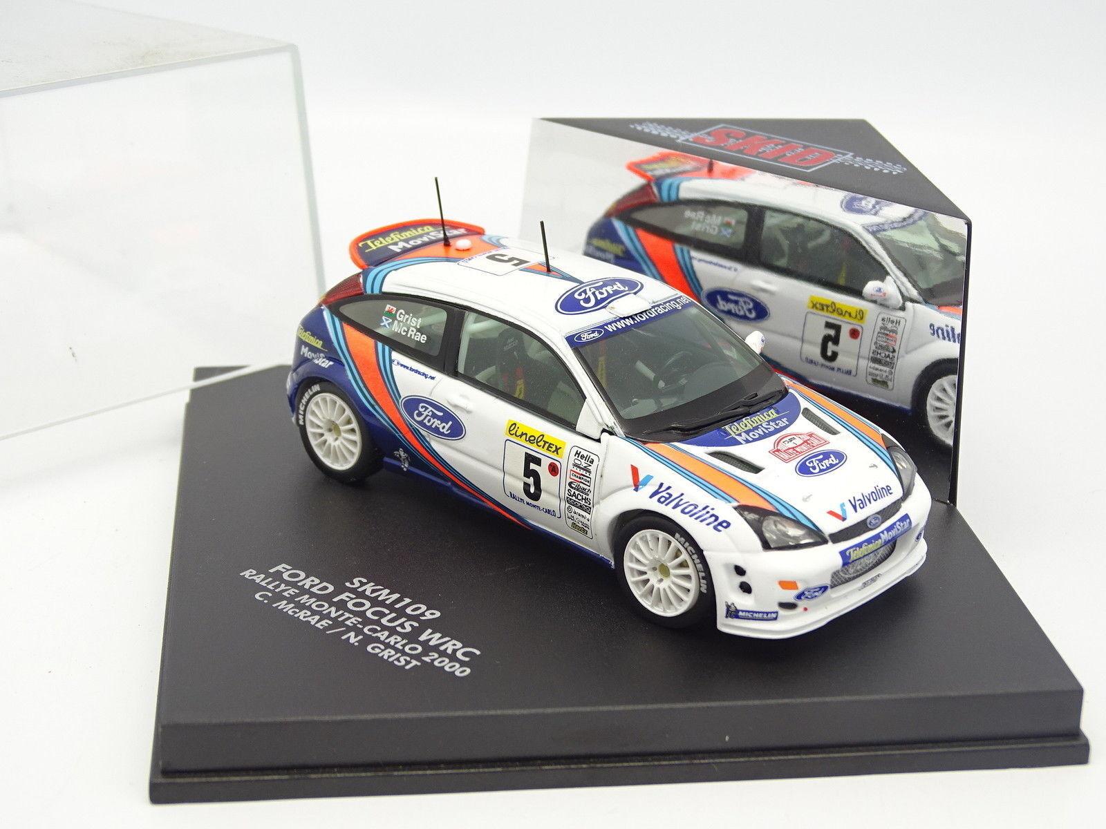 Speed Skid 1 43 43 43 - Ford Focus WRC Rally Mounted Carlo 2000 McRae 9898b4