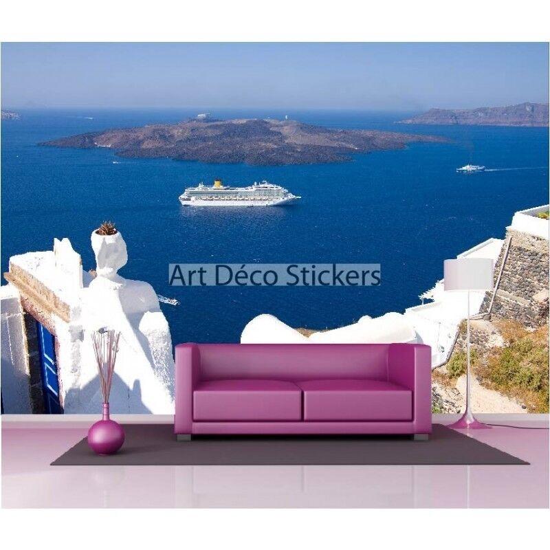 Stickers muraux géant géant géant déco : Terrasse vue sur mer 1618 | Faible Coût  | Shopping Online  | Un Prix Raisonnable  ae5104