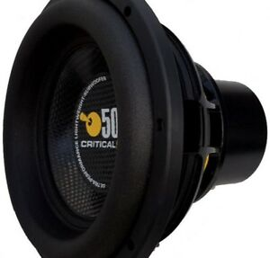 Image Is Loading NEW CRITICAL MASS UL12 THE BEST SUBWOOFER 12