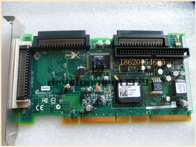 ADAPTEC SCSI CARD 29320A-R DRIVERS FOR WINDOWS DOWNLOAD