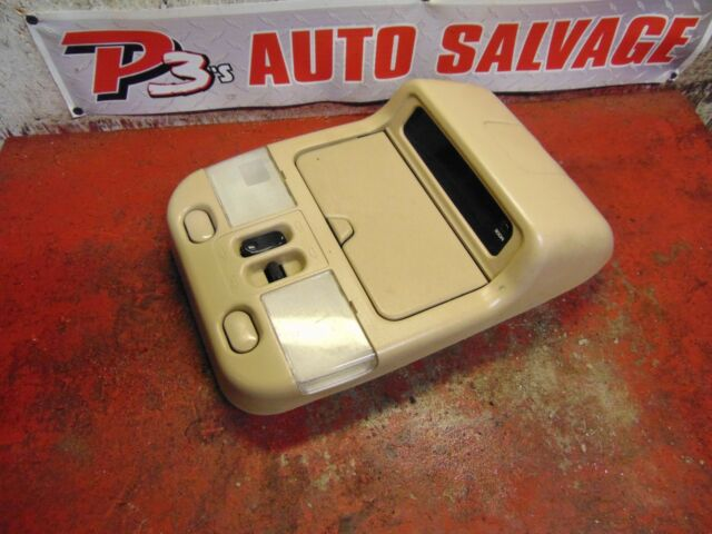 02 03 04 01 Nissan Pathfinder Overhead Console With Power Sunroof Switch