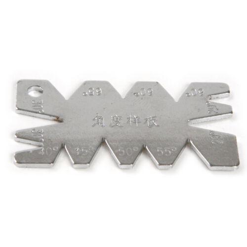 1 xgrinding et Sharpening JIG Modèle Angle Guide 29 ° 30 ° 40 ° 45 ° 50 ° 55 ° 65 °