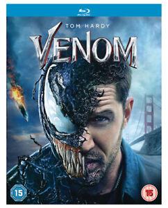 Venom-BLU-RAY-2019-Tom-Hardy-Fleischer-DIR-cert-15-NEW-Amazing-Value