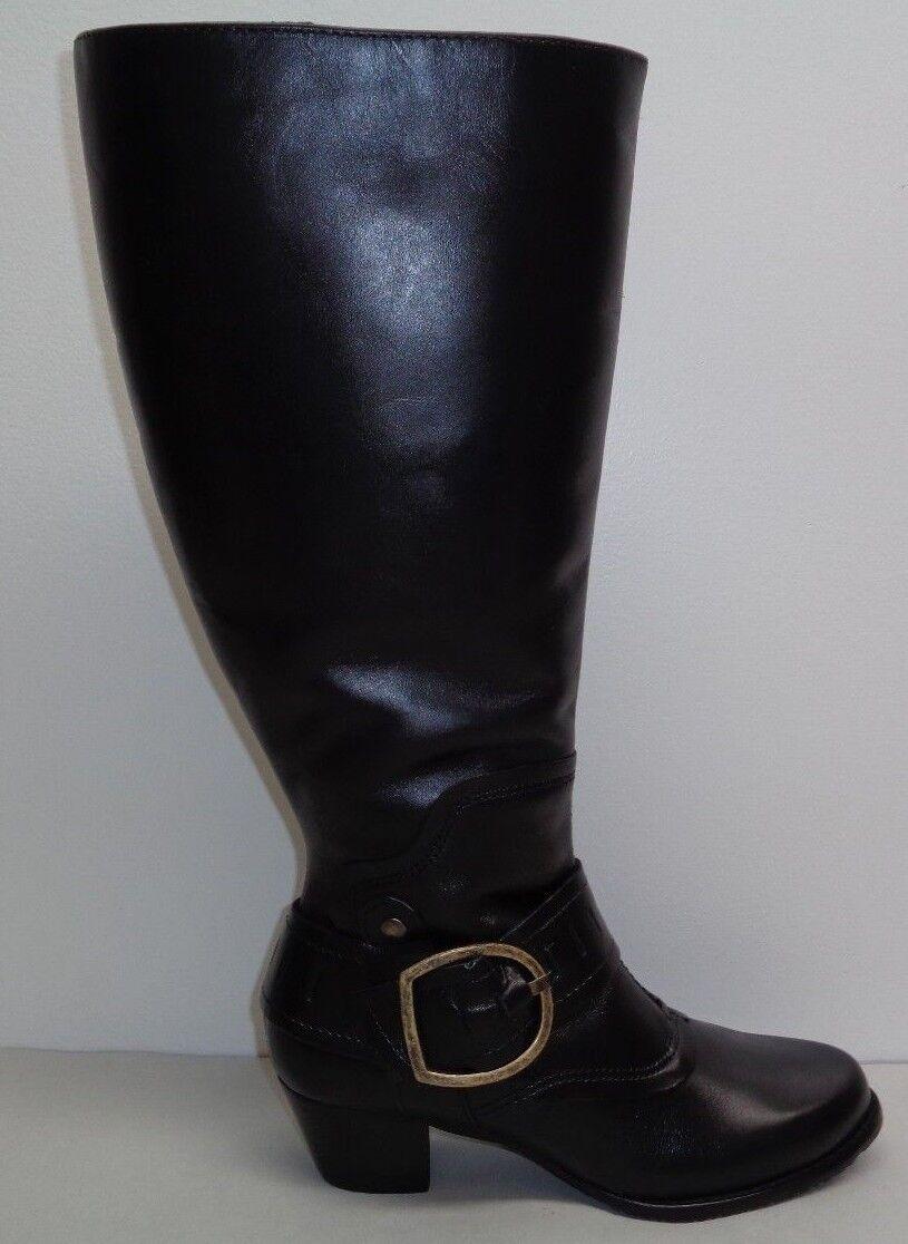 ampia selezione Walking Cradles Dimensione 6 WW Extra Wide Wide Wide Calf CLARITY nero stivali New donna scarpe  Sconto del 70%