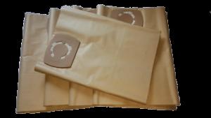 5 Staubsaugerbeutel geeignet für Milwaukee AS 300 ELCP