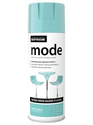 MODE PURE AQUA HIGH GLOSS RUST-OLEUM Fast Dry Spray Paint Aerosol 400ml