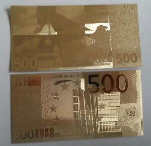 500-Euro-Banknote-Geldschein-in-Gold-Originalgroesse-Goldfolie-mit-Zertifikat