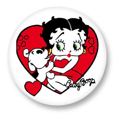 Porte clé Keychain Ø45mm BD Dessin Animé Cartoon Betty Boop Pin Up