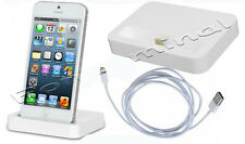 For Apple iPhone 5 5G Desktop Cradle Stand Charger Dock Charging Data Sync Cable