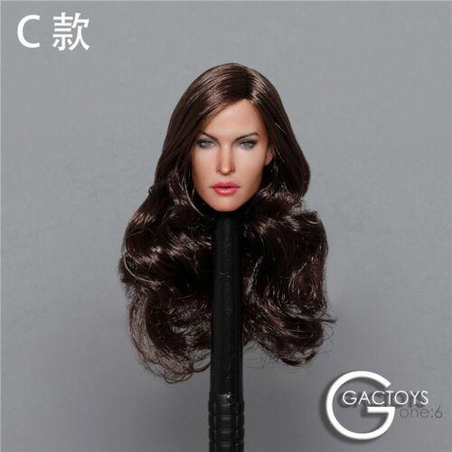 GACTOYS 1//6 Megan Fox GC029 Head Sculpt European Fit 12/'/' Female Figure Body Toy