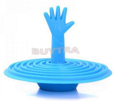 Outstanding Fine Washroom Hand Shape ECO Rubber Water Sink Bathtub Stopper ESCA