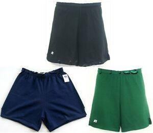Shorts-Athletic-Workout-Elastic-Waistband-Drawstring-Adult-Mens-Russell-55113MO