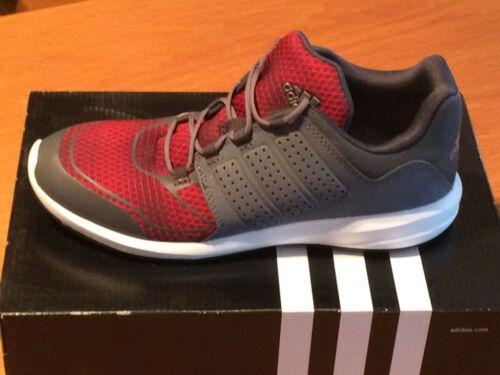 Adidas S-Flex K Sneaker Damen Kinder Laufschuhe Jogging grau-rot Schuhe AF4558