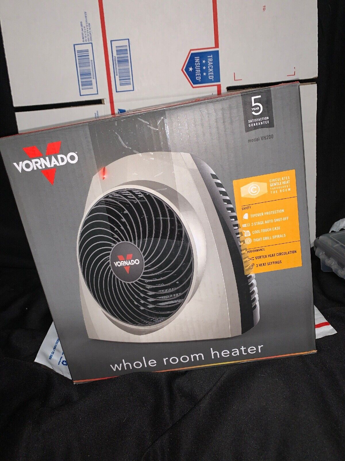 Vornado VH200 Whole Room Heater with