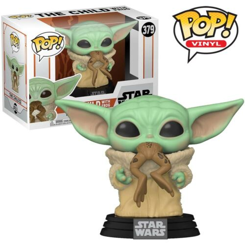 Baby Yoda Frog Official The Child Star Wars Mandalorian Funko Pop Vinyl Figure