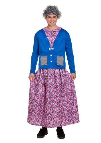 Henbrandt Adulte Coquin grand-mère Costume