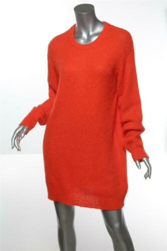 T by Alexander Wang Oversized Neon Orange Knitwear