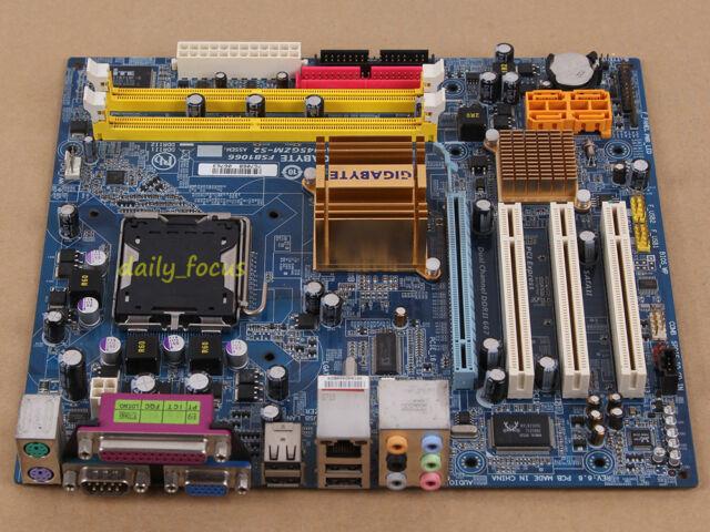 Gigabyte GA-945GZM-S2 V3.9 Motherboard skt 775 DDR2 Intel 945GZ