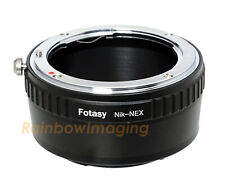 Fotasy NA42 Lens for Sony E-Mount Camcorder Adapter