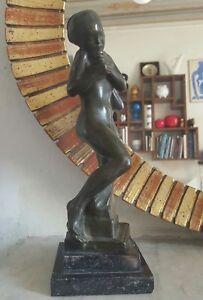 Sculpture-Bronze-Suede-Bukowskis